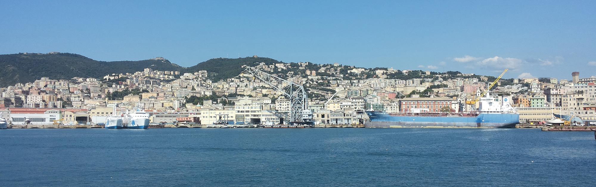 Genova paesaggio