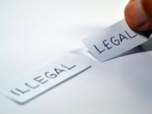 testo illegale